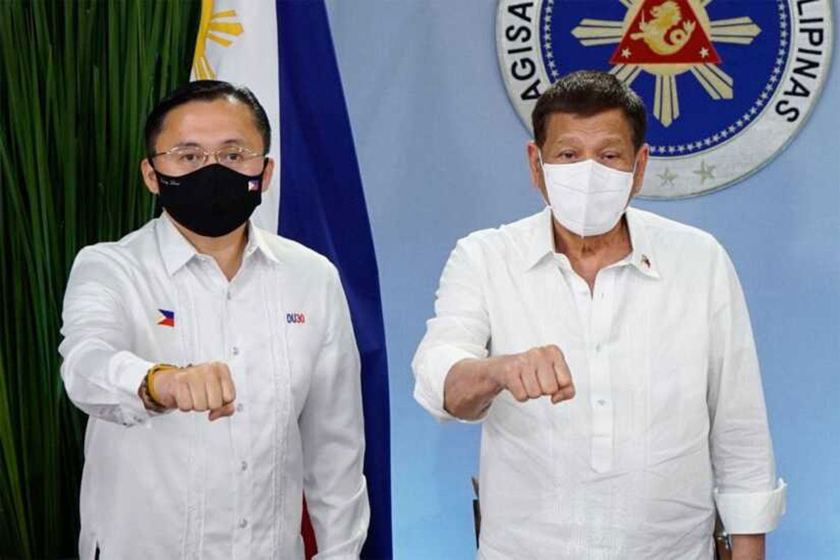 Bong Go & Duterte