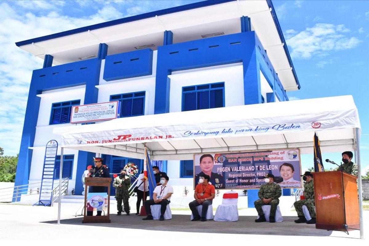 Pampanga town police station