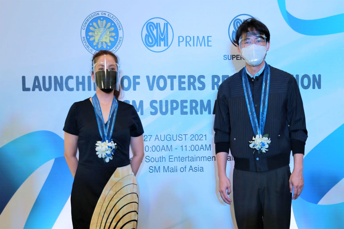 SM Supermalls and Commission on Elections
